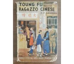Young fu, ragazzo cinese - E.F. Lewis - Salani - 1939 - AR