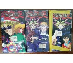 Yu-Gi-Oh! vol. 1,4,9 - 4 Kids home video - VHS - A