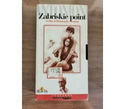 Zabrieskie Point - M. Antonioni - l'Unità - 1970 - VHS - AR