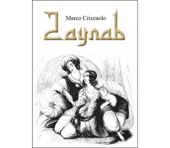 Zaynab di Marco Criscuolo,  2015,  Youcanprint