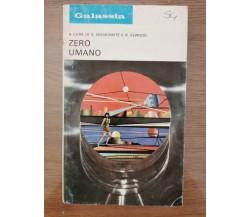 Zero umano - Moskowitz/Elwood - La Tribuna - 1974 - AR