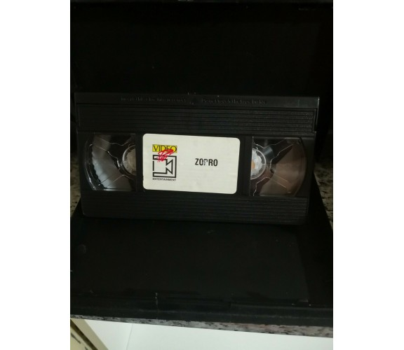 Zorro - vhs - 1996 - Univideo-F