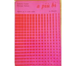 a più bi di Ludovico Cateni, Giuseppe Spinoso, 1968,  Le Monnier -D
