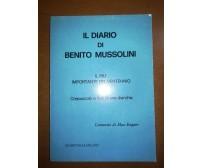 il diario di Benito Mussolini - Max Enguer - Stampitalia - M